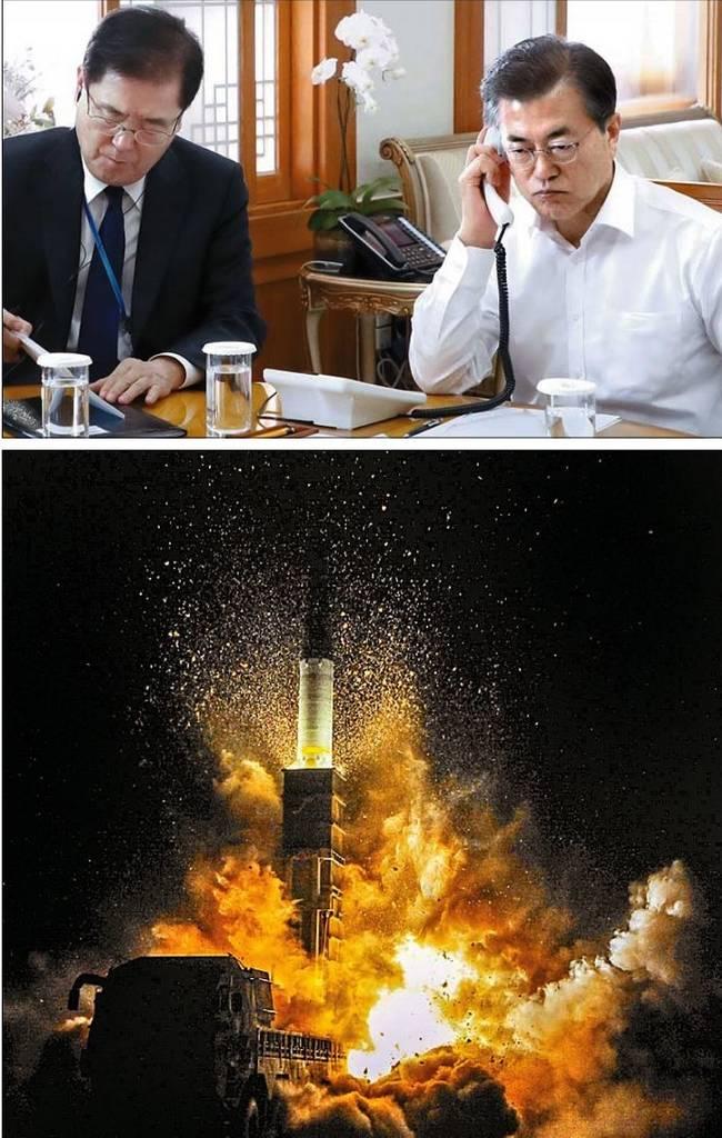 중앙일보 30일자 1면 사진.