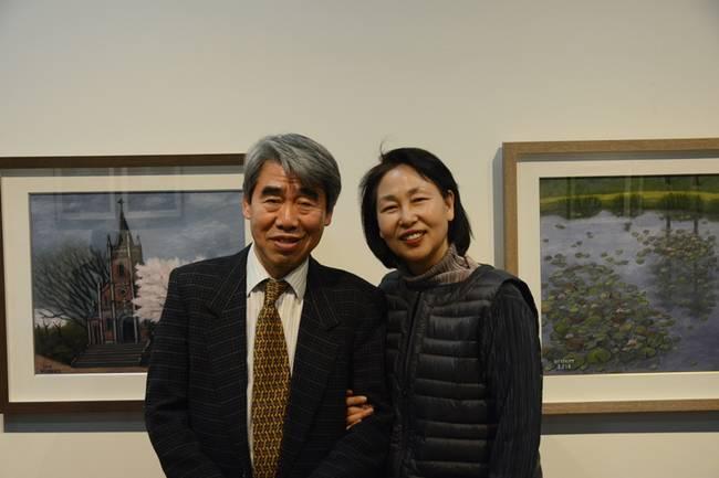 박래부 전 언론재단 이사장과 그의 아내 이석순씨(수원여대 교수).