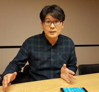 지난달 26일 서울 상암동 MBC 사옥에서 만난 백승우 기자는 신간 <MB 재산은닉 기술>을 'MB 재산 비리 입문서'라고 소개했다.