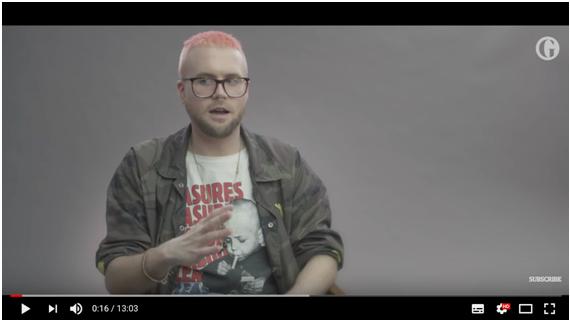 '가디언'과 비디오 인터뷰 중인 크리스토퍼 와일리 /출처: '가디언' 유튜브 채널
