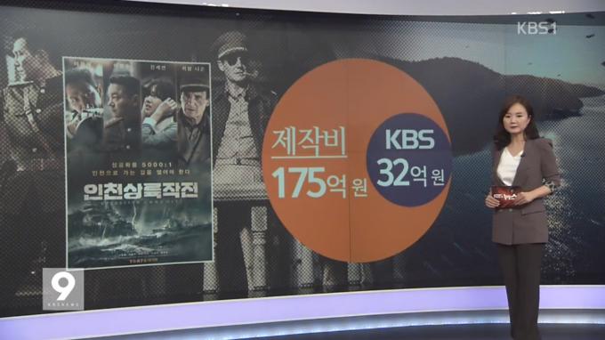 KBS는 11일 조대현 전 사장이 연임을 위해 영화 '인천상륙작전'에 투자했다고 폭로했다.